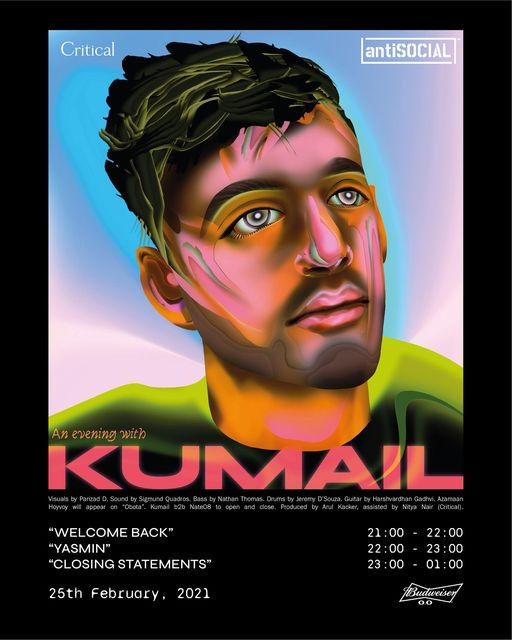 Kumail Performing Live At antiSOCIAL
