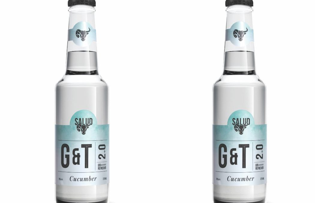 G&T 2.0 Cucumber, The Summer Getaway Drink From Salud Beverages