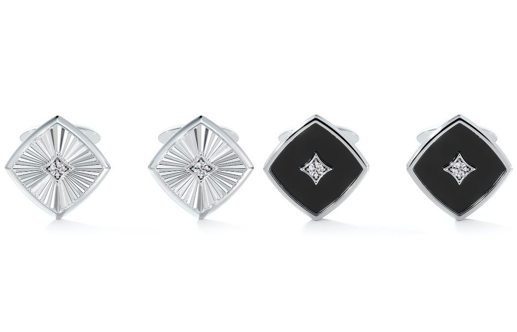 AN ICONIC GIFT FOR A DAD WHO DESERVES THE BEST: Cufflinks from the ForevermarkIcon™ Collection