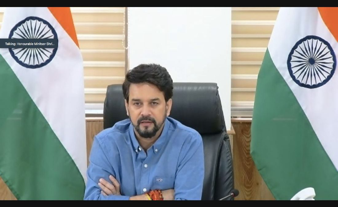 """""""21st Century Skills: Your Key to Success"""": Session keynote delivered by Honorable Cabinet Minister Shri Anurag Thakur"""